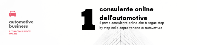 CONSULENTE ONLINE DELL'AUTOMOTIVE
